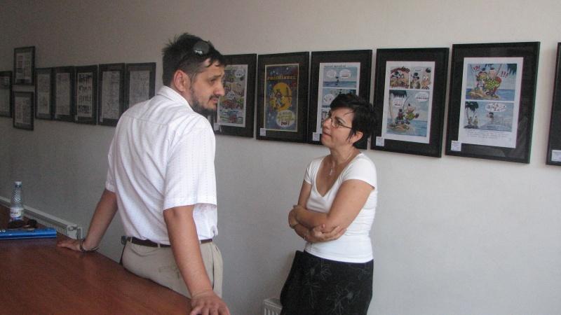 Cristi şi Diana Nedelcu, prieteni vechi, cu care m-am împrietenit în urmă cu vreo 15 ani, la o manifestare... BD